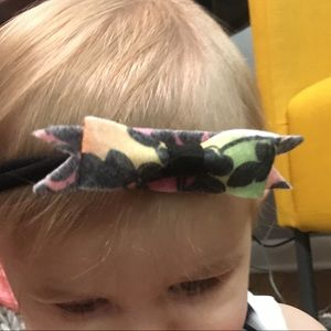 Other - Multi colored bow headband